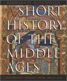 Short History of the Middle Ages 2/e V1