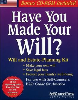 Have You Made Your Will?