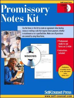 Promissory Notes Kit