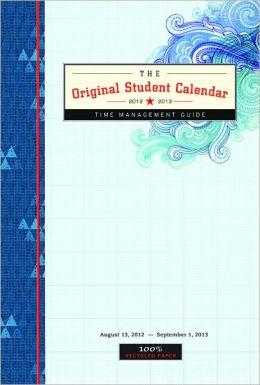2013 Original Student 2012 - 2013 Engagement Calendar