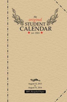 2014 Original Student Planner Engagement Calendar