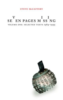 Seven Pages Missing: Selected Texts 1969-1999