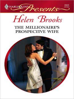 The Millionaire's Prospective Wife