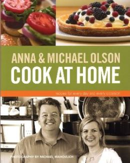 Anna and Michael Olson Cook at Home