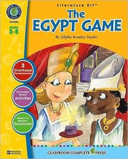 The Egypt Game: Grades 5-6 [With Transparencies]