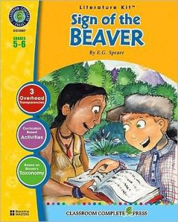 A Literature Kit for Sign of the Beaver, Grades 5-6 [With 3 Overhead Transparencies]