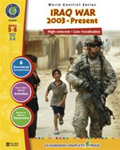 Iraq War 2003-Present, Grades 5-8: Reading Levels 3-4