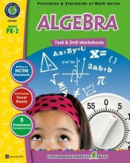 Algebra - Task & Drill Sheets