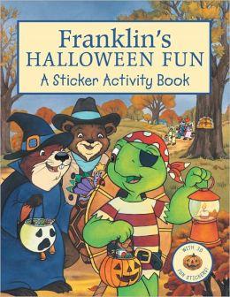 Franklin's Halloween Fun: Sticker Activity Book