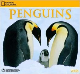 2008 Penguins National Geographic Wall Calendar