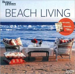 2009 Beach Living Better Homes and Gardens Wall Calendar