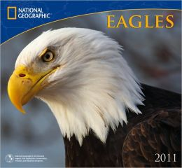 2011 National Geographic Eagles Wall Calendar