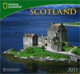 2011 National Geographic Scotland Wall Calendar