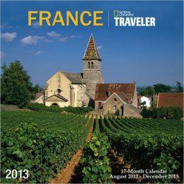 2013 NGS Traveler France Wall Calendar