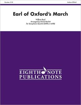 Earl of Oxford's March: Score & Parts