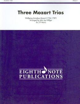 Three Mozart Trios: Score & Parts