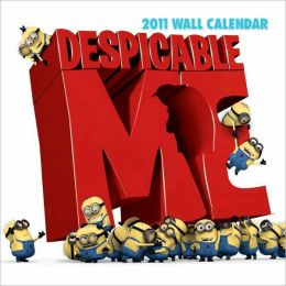 2011 Depicable Me The Movie Wall Calendar
