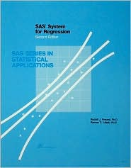 SAS System for Regression,Second Edition