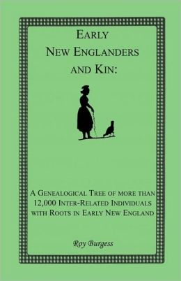 Early New Englanders And Kin