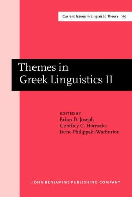 Themes in Greek Linguistics II