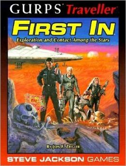 GURPS Traveller First In: Exploration and Conflict Among the Stars