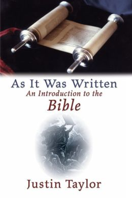 As It Was Written: An Introduction to the Bible