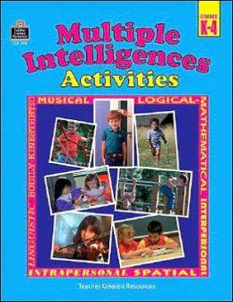 Multiple Intelligences Activities Grades K-4