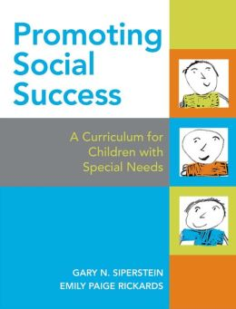 Promoting Social Success: A Curriculum for Children with Special Needs