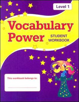 Vocabulary Power: Student Workbook, Level 1