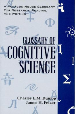 Glossary of Cognitive Science