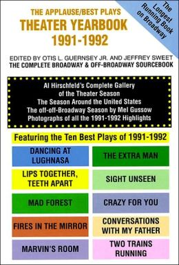 The Applause/Best Plays Theater Yearbook 1991-1992