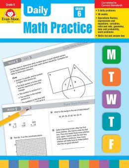 Daily Math Practice, Grade 6+