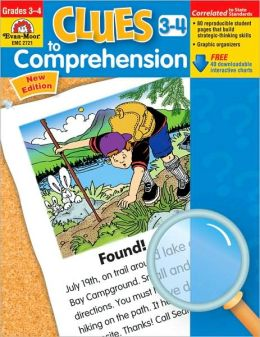 Clues To Comprehension, Grades 3-4