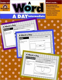 A Word a Day: Grades 4-8