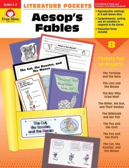 Literature Pockets, Aesop's Fables, Grades 2-3