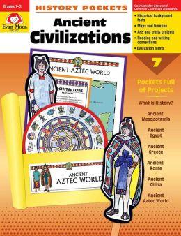 History Pockets, Ancient Civilizations, Grades 1-3