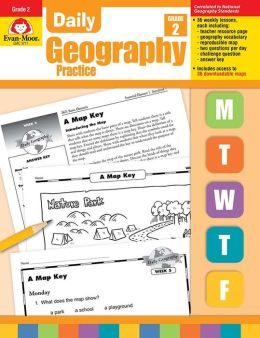 Daily Geography Practice, Grade 2
