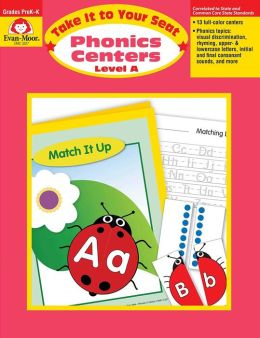 Take It to Your Seat Phonics Centers - Level A, Grades PreK-K