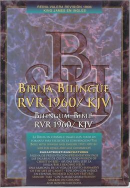 RVR 1960/KJV Bilingual Bible (Black Hardcover - Indexed)