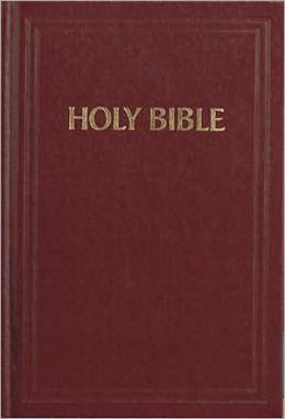 KJV Pew Bible (Scarlet Red)