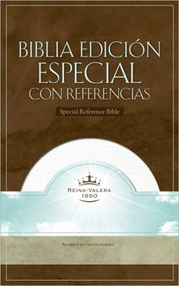 RVR 1960 Special Reference Bible (White Bonded Leather - Indexed)