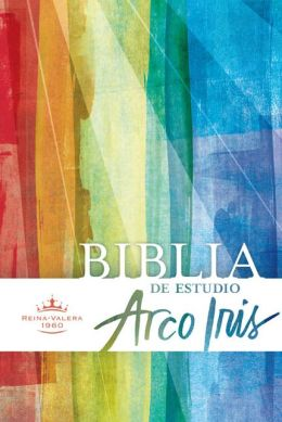 RVR 1960 Biblia de Estudio Arco Iris, tapa dura con indice