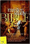 KJV Master Study Bible, Burgundy Paper Over Board Indexed