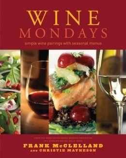 Wine Mondays: Simple Wine Pairings and Seasonal Menus