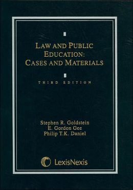 Law & Public Education: Cases & Materials 3E 1995