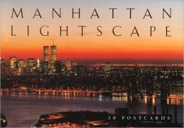Manhattan Lightscape Postcard Book