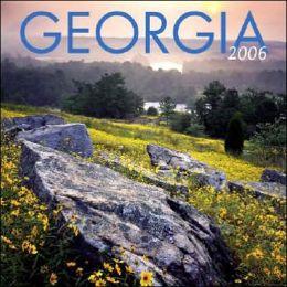 2006 Georgia Wall Calendar