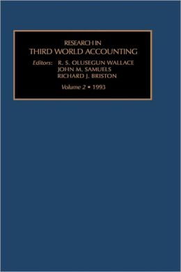 Res Third World Accounting Vol 2