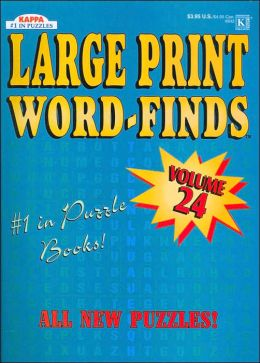 Large Print Word-Find