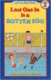 Last One In Is a Rotten Egg: (I Can Read Book Series: Level 2) (Book & Cassette)